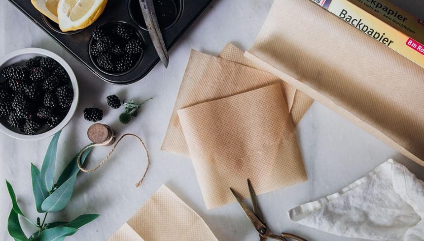 Toppits® bakpapier om heerlijke muffins te bakken