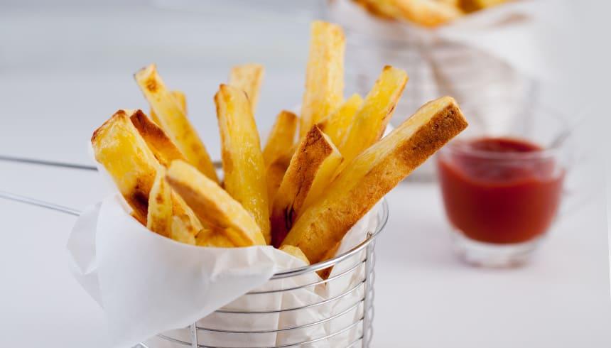 Heerlijk krokante frietjes