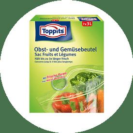 Fruit- en groentezakjes van Toppits®