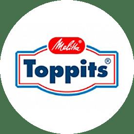 Toppits® logo uit 1988
