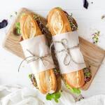 Vers belegde broodjes
